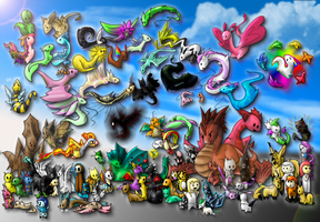101 Deviations by Pokemontrainergigi