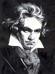 beethoven by unknownart1