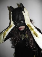 Batgirl Cosplay - New Cowl! by ozbattlechick