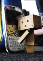 Danbo Phone Home by JDInUnderland