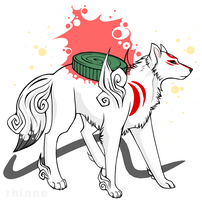 Amaterasu by Rhinne