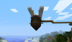 MeinBlitz Airship - Front by TheKagestar