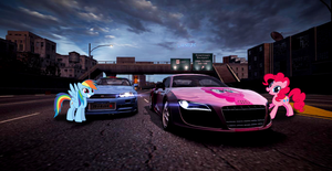 nfs world my little pony by iqbalherindra