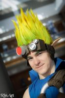 Jak from 'Jak and Daxter' by Firi-ppu