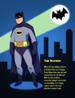 Batman 1966 - The Batman by SeriojaInc