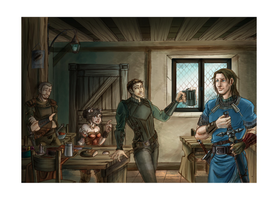 Commission: Tavern 2 by SicilianValkyrie