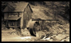 Antique Mill by myndbyndr