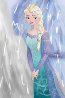 Frozen - Elsa by PlungedintoLight7