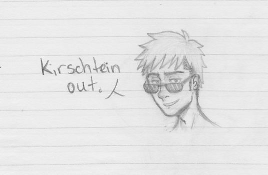 Kirschtein out. by ShoopOnTheMoon