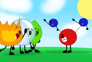 Water Molecule meets the Final 3 by xX-SugarTheCube-Xx