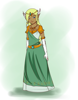Queen of new Hyrule by TeLinkfan1