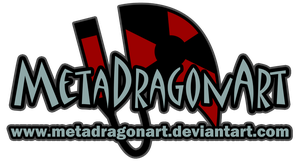 MetaDragonArt official logo by MetaDragonArt