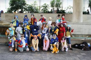 Digimon Group Otakon 2010 by evelynbordeaux