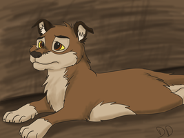 Puppy Balto by DiggittyDawg