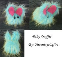 baby Snoofle by craftybird