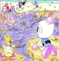 Bomberman-Battle mode by Ian-the-Hedgehog
