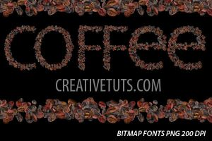 Coffee Fonts by Grasycho