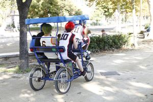 Kuroko No Basket : on the rickshaw by MischievousBoyAilime