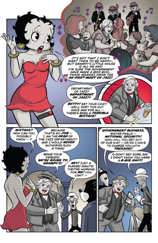 Betty Boop Dynamite Comic #2 (Page 11) by Rapper1996