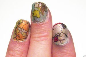 Cartoon Nails by Fyzgigg