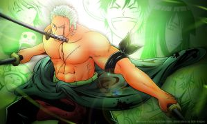 ZORO , The Pain was Nothing by Bob-Raigen