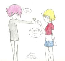 Crona and Patty by guardian-angel15