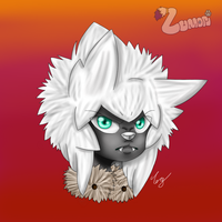 Howlite Headshot by Yensuei