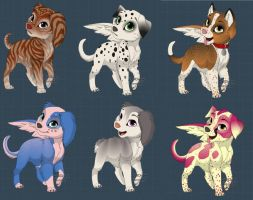 CHEAP!! pup adpots - 2 by xXfree--pointsXx