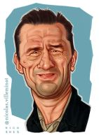 De Niro :: Color sketch by ElectroNic0