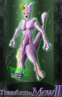 Transform to Mewtwo 1-colored by monchiken