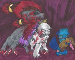 -M8- All the blood the fox had spilled... by LittleWhiteWolfAngel