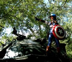 Captain America Cosplay 5 by foxsilong