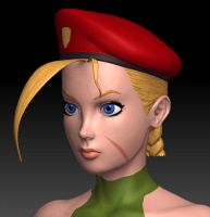 Cammy sculpt wip 8 by Jiggeh