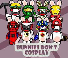 Bunnies Don't Cosplay by GMLink