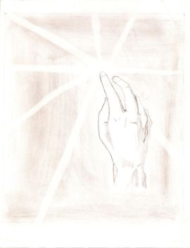 The Hand of LIGHT by JV-THE-DRAGON