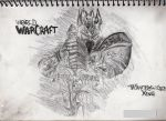 WoW Wrath of the Lich king by Ellenoric
