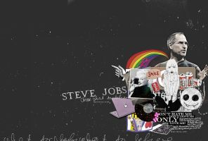 Collage design for steve jobs by Galvero