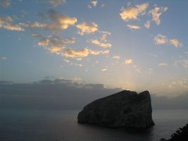 Sunset in Capo Caccia by davdiana