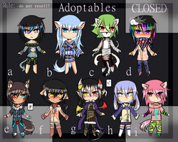 ~Some Adoptables~ .: 0/9 closed :. by Mellmeow
