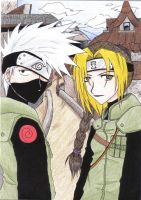 Kakashi and I by heavensong