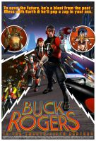 Buck Rogers poster update 1 by CWRudy