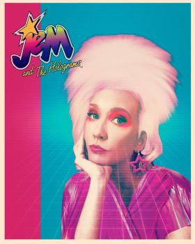 Jem and The Holograms by technoborg