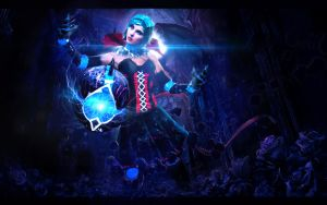 Orianna Gothic League of Legends by mihaimcm94