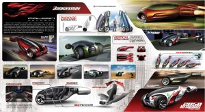Bridgestone Falcon Concept Car by Samirs