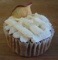 Apple Spice Cup Cake by JNFerrigno