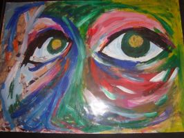 Abstract Eyes by alicecorley