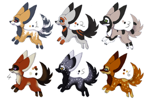 FREE Adoptable Sand-pelts Closed by Nickersadopts