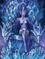 Goddess of ice by Goddess-of-Loki