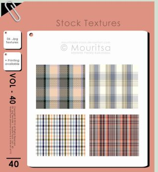 Texture Pack - Vol 40 by MouritsaDA-Stock
