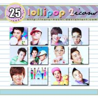 Big Bang Lollipop 2 Icons by naru-hoshi
